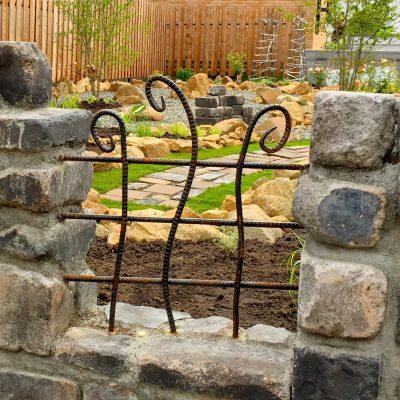 アイアンを使ったフェンス・門扉・塀